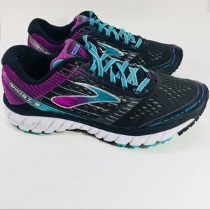 Brooks Ghost 5 h Purple Blue Black shoes